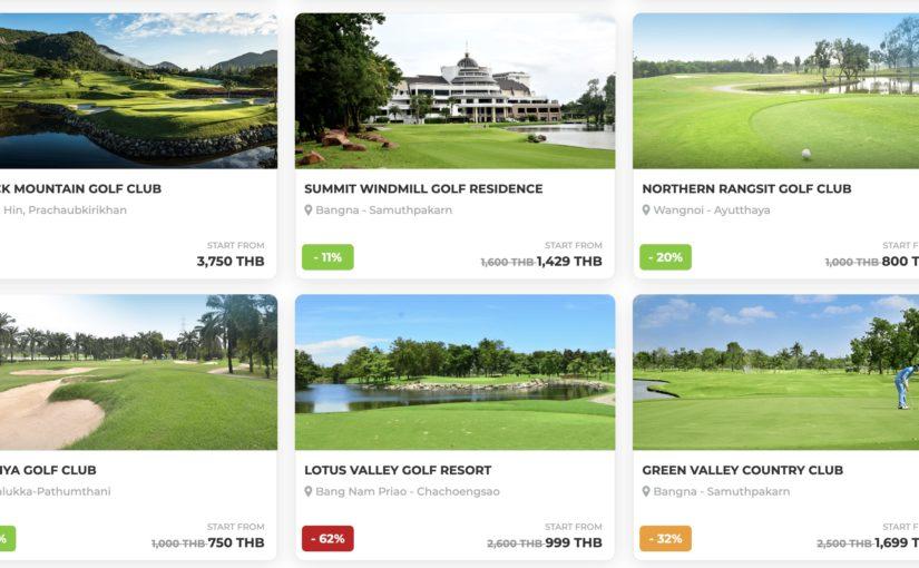 格安でゴルフをするならこのアプリ タイのゴルフ場予約サイトGolfdigg